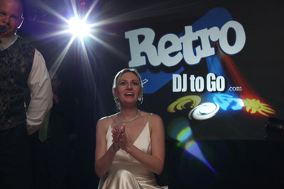 Experience what a RetroDJtoGo DJ can do for your wedding
